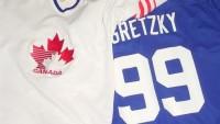 FOTO:Dres Kanady a dres Gretzkyho