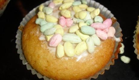 FOTO: Karamelový muffin