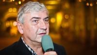 FOTO: Miroslav Donutil na křtu DVD Sluha dvou pánů v kavárně Platýz