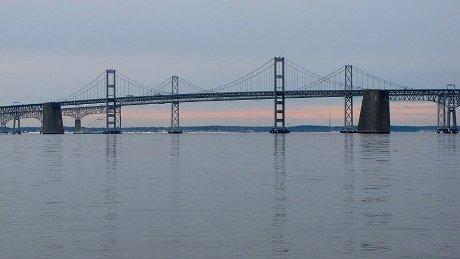 FOTO: most Chesapeake Bay Bridge, USA