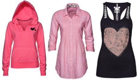 FOTO: Růžové oblečení na Valentýna