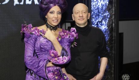 FOTO: Olga Lounová s Liborem Vaculíkem na tiskové konferenci 14.2.2011 k muzikálu Kat Mydlář