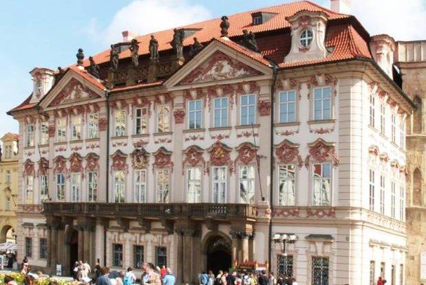 FOTO: Palác Kinských, Praha