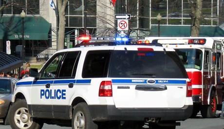 FOTO: policejní auto
