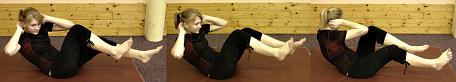 FOTO: posilování břicha - šikmé svaly