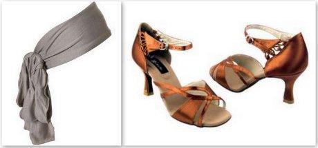 FOTO: Taneční boty a čelenka
