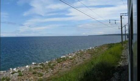 FOTO: Pohled na jezero Bajkal