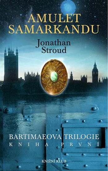 Amulet Samarkandu od Jonathana Strouda (obálka knihy)