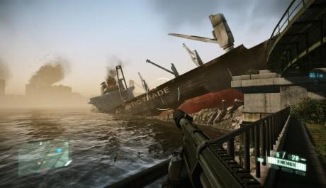 Crysis 2 - loď zaparkovaná špatně