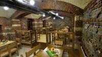 Restaurace U Žíznivého jelena - Interiér dolní nekuřácké části