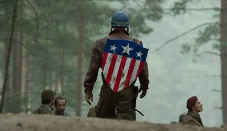 FOTO: obrázek z filmu Kapitán Amerika