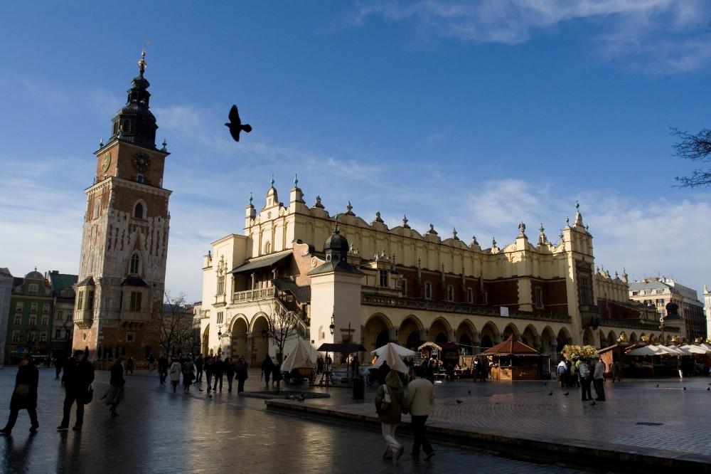 FOTO: Náměstí v Krakově