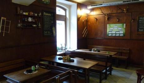 FOTO: Kuřácká část restaurace U Žíznivého jelena