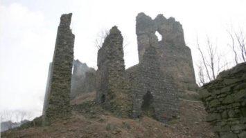 FOTO: zřícenina hradu Egerberk, Lestkov
