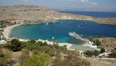FOTO: Řecký ostrov Rhodos