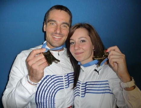 Roman Šebrle a Denisa Rosolová