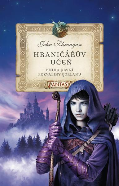 Rozvaliny Gorlanu: John Flanagan (obálka knihy)