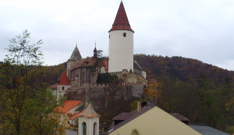 FOTO: Křivoklát s věží