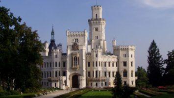 FOTO: Zámek v Hluboké nad Vltavou je prostě pohádka