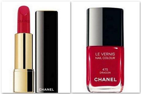 FOTO: Rtěnka a lak na nahty Chanel