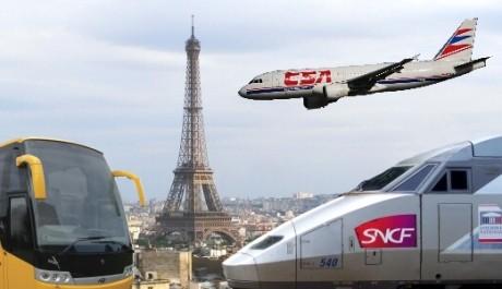 FOTO: Dopravte se do Paříže co nejlevněji