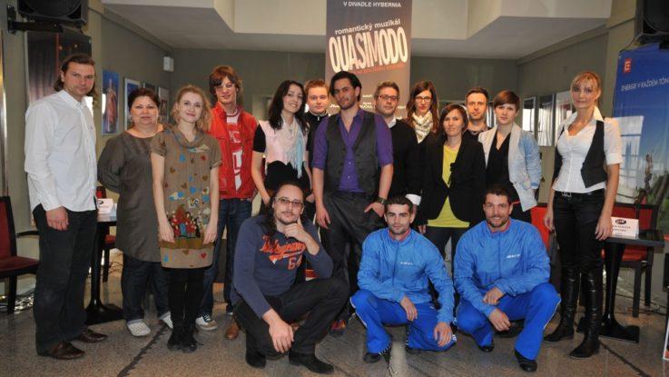 FOTO: Tvůrčí tým Quasimoda