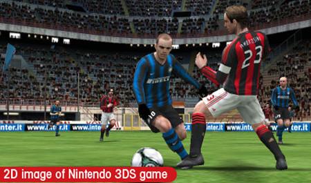 Foto: Fotbálek na 3DSku.