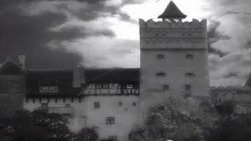 rumunský hrad Bran (tzv. Drákulův hrad)