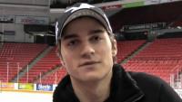 Foto: Hokejista Tomáš Knotek na zimním stadionu v Halifaxu