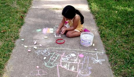 FOTO: Kreslící dítě