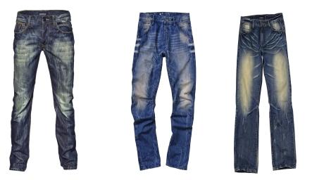 FOTO:  Pánské jarní trendy - džíny