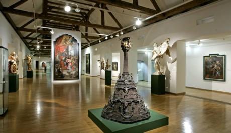 FOTO: Olomoucké baroko. Pohled do sálu Trojlodí Muzea moderního umění