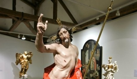 FOTO: Jedna ze soch výstavy Olomoucké baroko