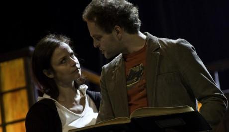 FOTO: Miroslava Pleštilová s Janem Teplým na zkoušce představení Past na myši v Divadle pod Palmovkou