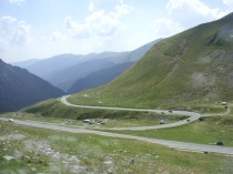 FOTO: Transfagarašská dálnice v Rumunsku
