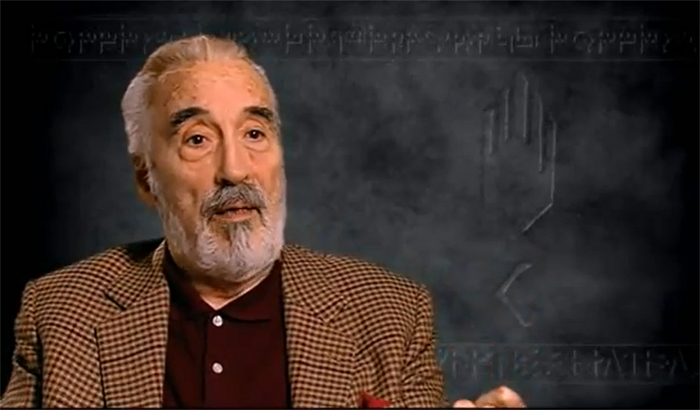 FOTO: Sir Christopher Lee