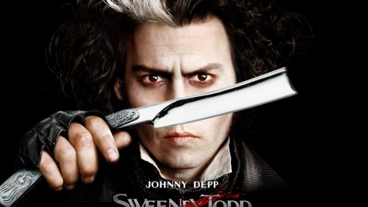 FOTO: Johny Depp jako Sweeney Todd