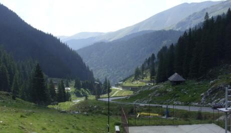 FOTO: Pohoří Fagaras v Rumunsku