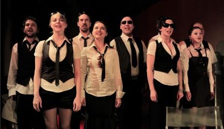 Foto: Herci Švandovo divadla v představení Gottland