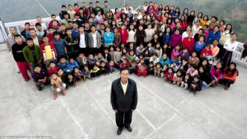 FOTO: Největší rodina na světě