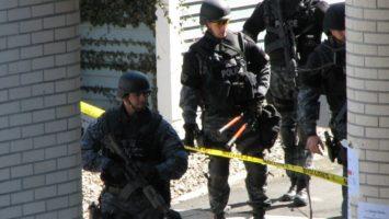 Foto: Policie na místě