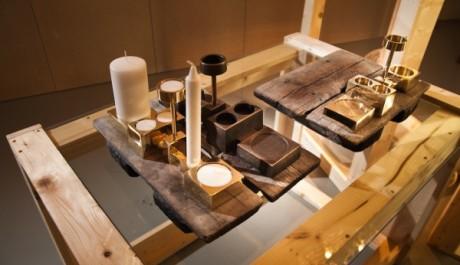 FOTO: kolekce mosazných a bronzových svícnů Handmade Mass Production,Design: studio Folkform