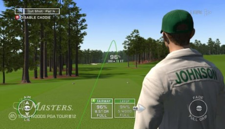 Foto: asistent při golfu