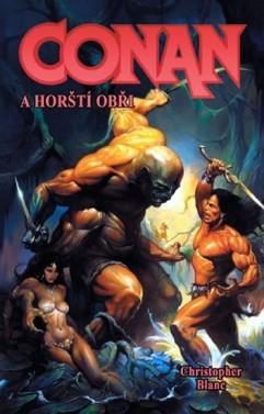 obálka Christopher Blanc: Conan a horští obři