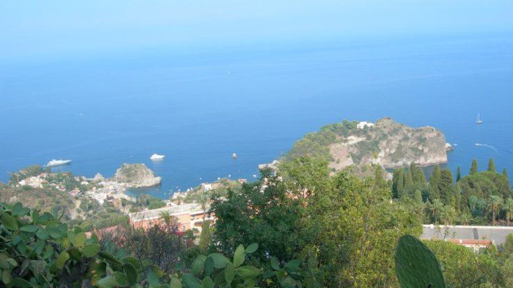 FOTO: Okolí Taorminy