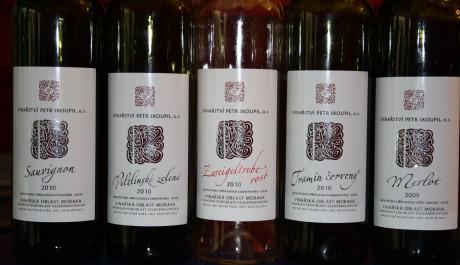 FOTO: Vína z Vinařství Petr Skoupil