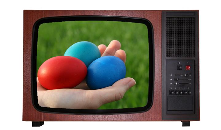 FOTO: Velikonoce v televizi