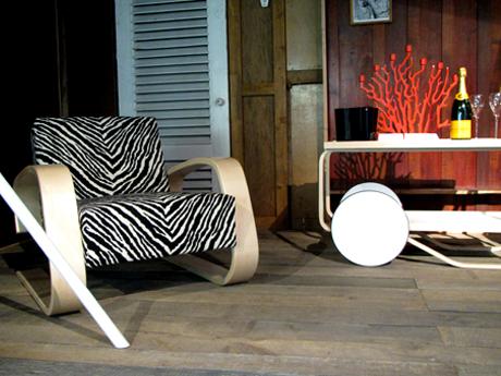 FOTO: Designový nábytek značky Artek, Design: Alvar Aaltoa