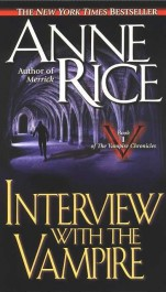 obálka Anne Rice: Interview with the Vampire (EN)