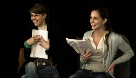 FOTO: Zuzana Stavná a Hana Vágnerová na čtené zkoušce